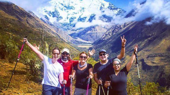 Salkantay Trek - Salkantay Mountain trail